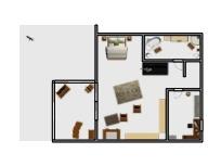 Loft Obergeschoss poster