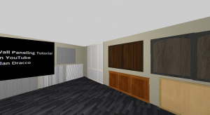 Wall Paneling Tutorial poster