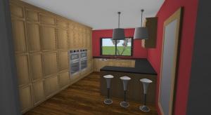 Je retappe la cuisine de la Wooden house (avant/après) poster