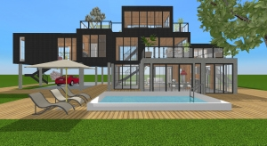 Container house - Copy poster
