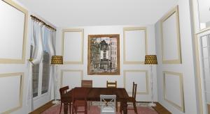 Paris Apartment with City Views poster