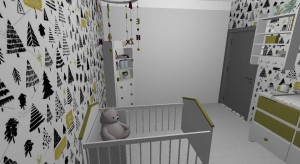 Baby room poster