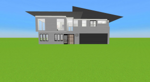two bedroom house with loft poster
