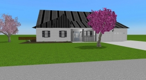Small Farmhouse - Ranch Home (Unfurnished) poster
