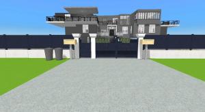 Multi level mansion poster