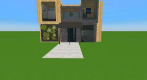 Modern beach tiny house  poster