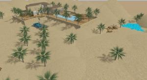 The desert house poster