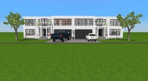 Vinage town home duplex  poster