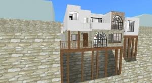 Proj11 ジブリ地球屋的立地の家 poster
