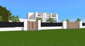 Stylish mansion at Oak park poster