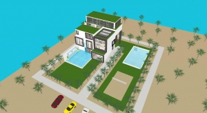 ☑️ Modern House ☑️ poster