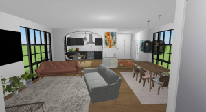 one bedroom apartment poster