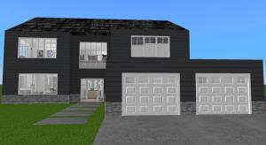 Suburban family dream home - Copy poster