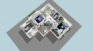 Work-in 2-bedroom apartment in central Paris poster