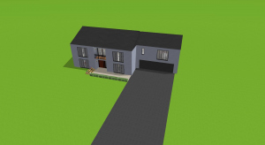 4 bedroom house poster
