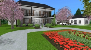 Modern Farmhouse Estate  poster