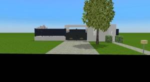 Coool backyard house poster