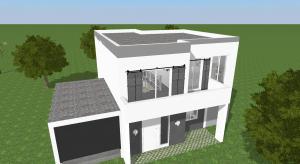 MODERN HOUSE poster