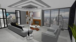 Modern apartment (releitura) poster