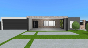 Australian modern country home - Unfurnished poster