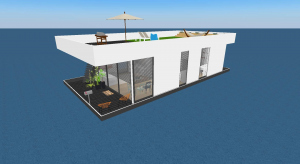 Hausboot poster
