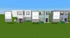 town houses poster