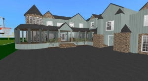 6bd with bowling alley and football field poster
