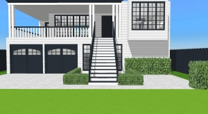 Modern family house of 6 poster