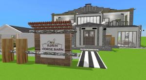Ranch Horse Barn poster