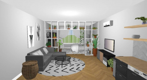 Furnished Studio Apartment poster