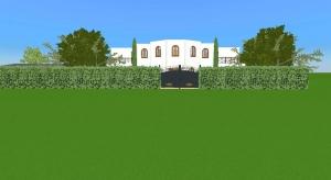 Titanic style mansion poster