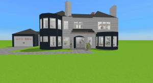 Edwardian House - Finnished poster