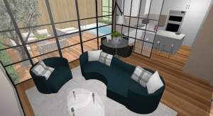 Modern Contemporary house poster