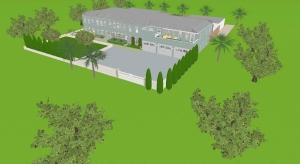 Modern mansion poster