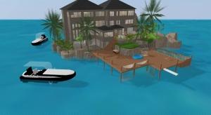 Vacation house ile bahamas poster