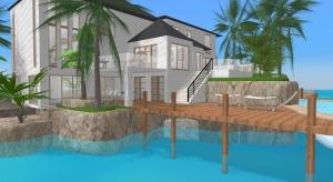 Summer Island House poster