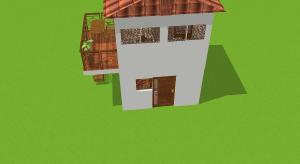 Tiny House im spanischen Stil poster