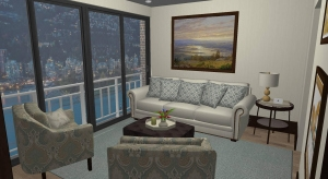 Corner Apartment with Incredible Ocean View poster