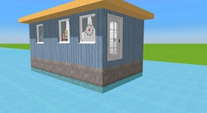 Smallest houseboat poster