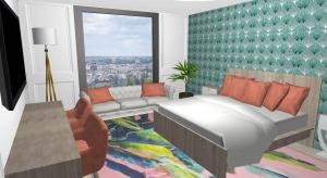 Luxury flat in Paris poster