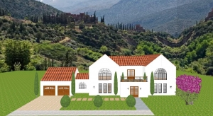 Spanish Style Home poster