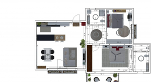 2bhk house poster