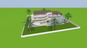Luxus Villa poster