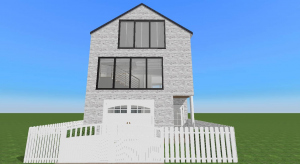 3 story townhome poster