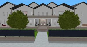 Moderne Landhaus Villa poster