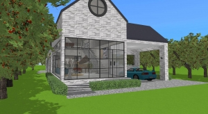Modern villa 2.0 poster
