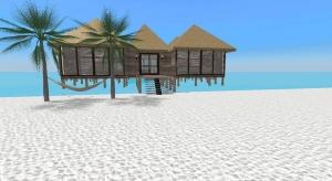 caribbean resort poster