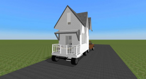 Mobile Home - Modern poster