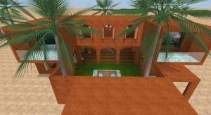 Desert house  poster