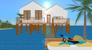 Overwater Bungalow poster
